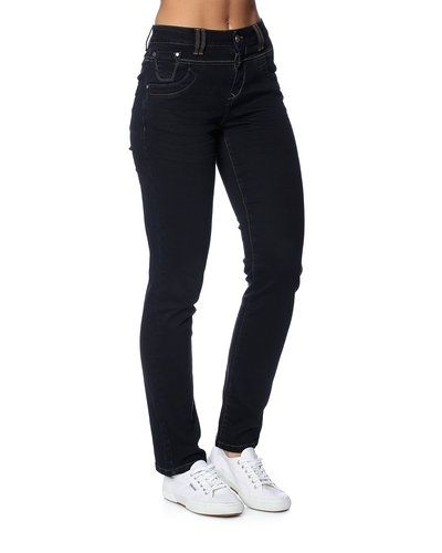 PULZ 'Tenna Straight' jeans PULZ straight leg jeans till dam.