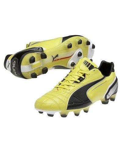 Puma King FG 102669 001 BLAZING YELLOW-BLACK-WHITE - Puma - Fasta Dobbar