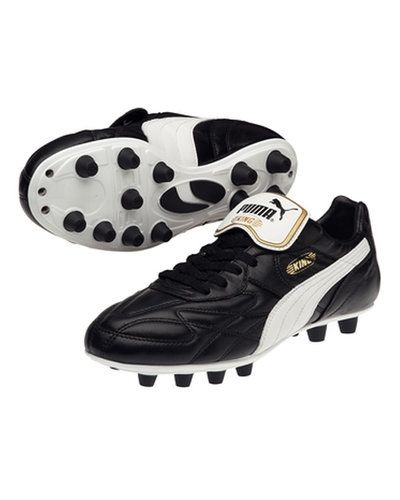 Puma King Top K di FG 102463 001 BLACK-WHITE-TEAM - Puma - Fasta Dobbar