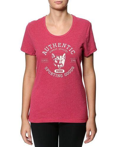 Till dam från Puma, en rosa t-shirts.