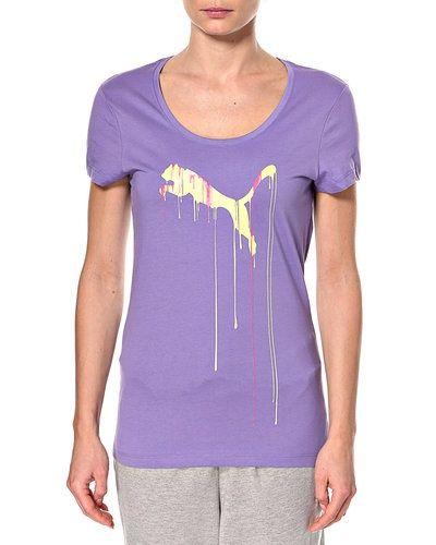 PUMA T-shirt med motiv Puma t-shirts till dam.