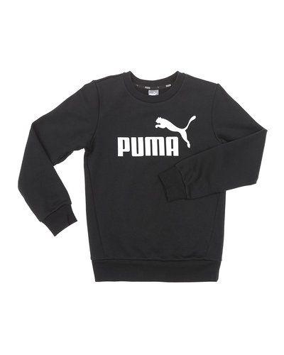 Svart sweatshirts från Puma till barn.