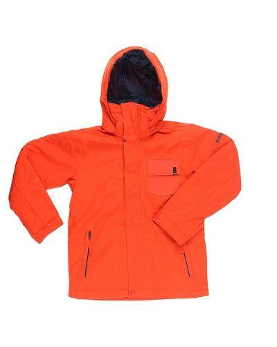 Orange höst- och vinterjacka från Quiksilver till kille.