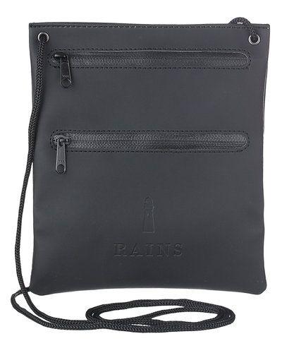 Till unisex/Ospec. från Rains, en metallicfärgad plånbok.