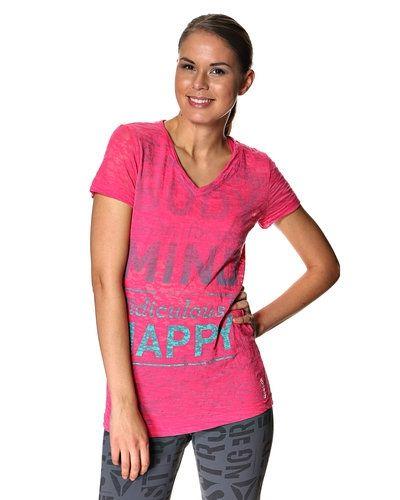 Reebok Fitness T-shirt Reebok linnen till dam.