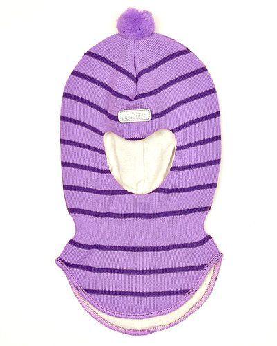 Till barn från Reima, en lila mössa.