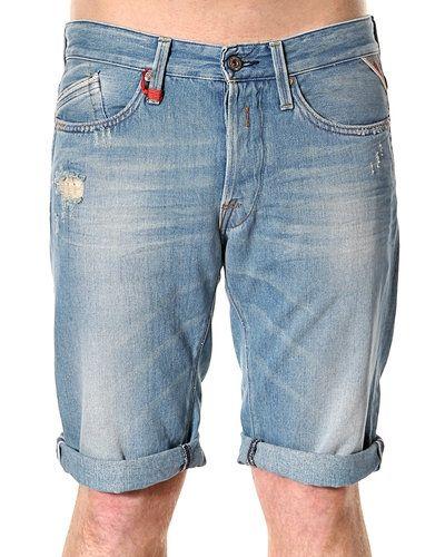 Blå jeansshorts från Replay till killar.