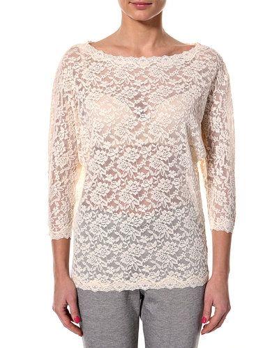 Långärmad tröja från Rosemunde till dam.