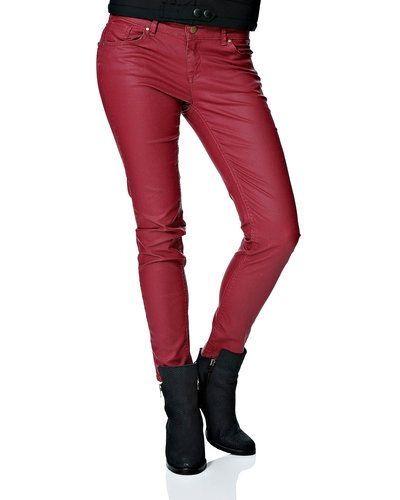 Röd blandade jeans från Saint Tropez till dam.