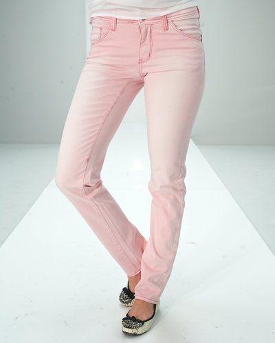 Rosa blandade jeans från Saint Tropez till dam.