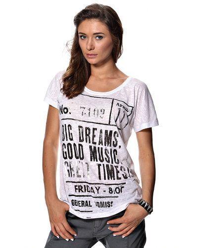 Till dam från Saint Tropez, en vit t-shirts.