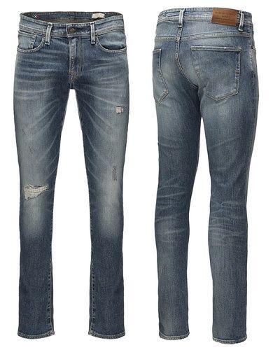 Blå jeans från Selected till herr.