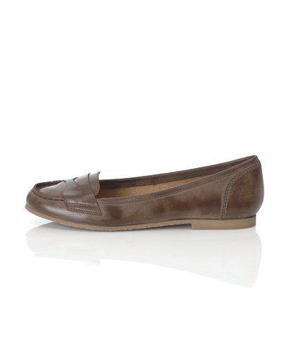 Brun ballerinasko från Shoe Biz till dam.