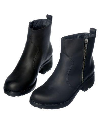 Shoe Biz Shoe biz skinn stövlar