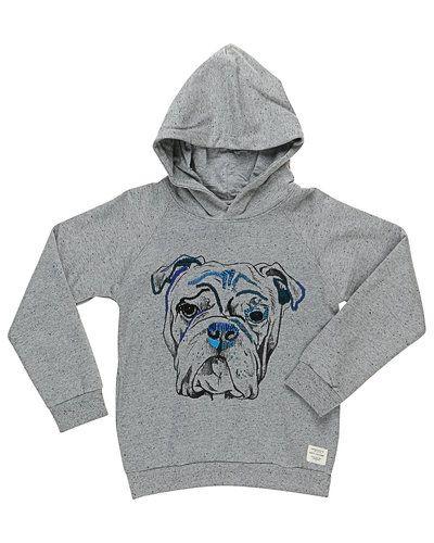 Grå sweatshirts från Soft Gallery till barn.