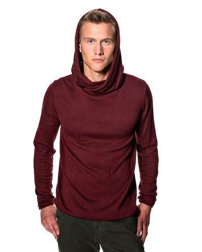 Solid 'Eliab' stickad tröja m/huva från Solid, Mössor
