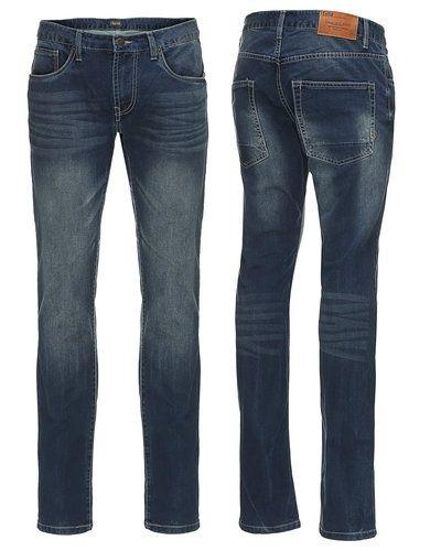Solid blandade jeans till herr.