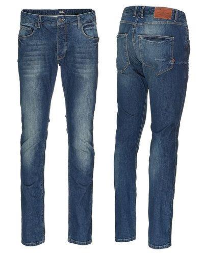 SOLID jeans Solid slim fit jeans till herr.