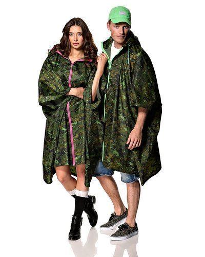 STYLEPIT 'Camo Rain Poncho' regnkläder - STYLEPIT - Regnjackor