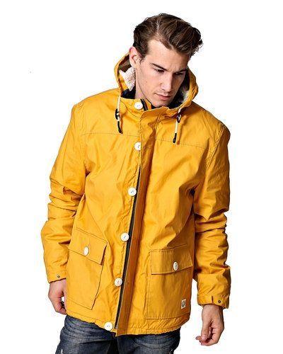 Till herr från Suit, en gul höst- och vinterjacka.