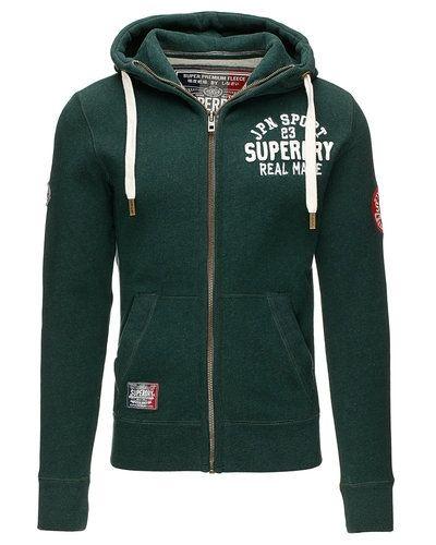 Superdry huvtröja m. zip Superdry sweatshirts till killar.