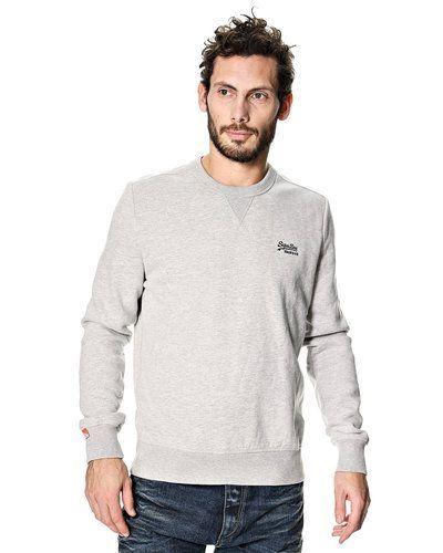 Grå sweatshirts från Superdry till killar.