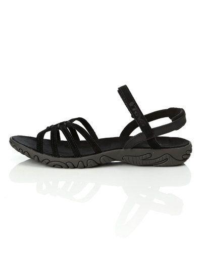 Till dam från Teva, en svart sandal.