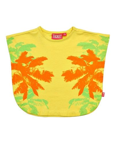 Gul t-shirts från Ticket to Heaven till unisex/Ospec..