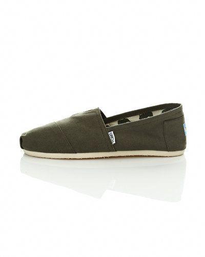 Grön loafers från TOMS till herr.