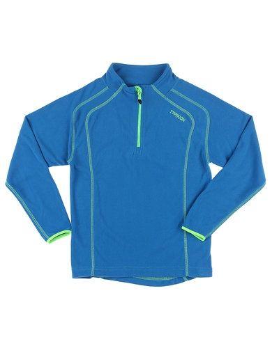 Till barn från Typhoon, en blå sweatshirts.