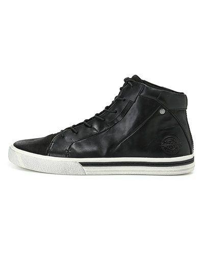 Vagabond 'Philip' läder sneakers Vagabond höga sneakers till herr.