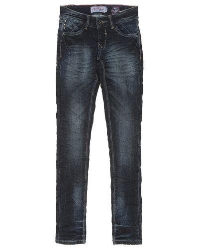 Till tjej från Vingino, en blå jeans.