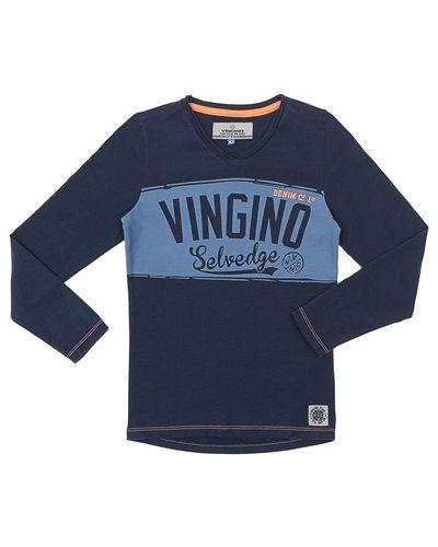 Blå tröja från Vingino till kille.