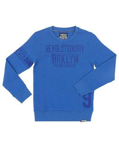 Till kille från Vingino, en blå sweatshirts.