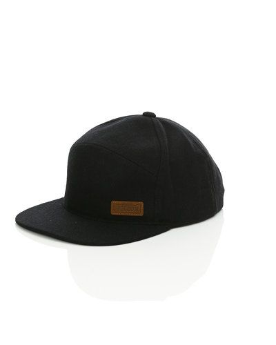 Volcom Volcom 'VBJ Adjustable' flat snapback cap. Huvudbonader håller hög kvalitet.