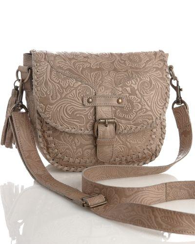 Gena Leather Bag från By Burin, Axelremsväskor