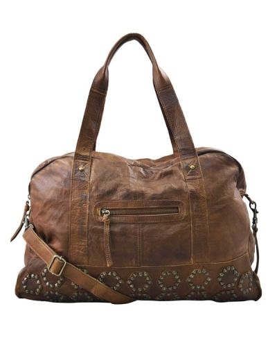 Moroccan Weekend Rivet Bag - By Burin - Weekendbags