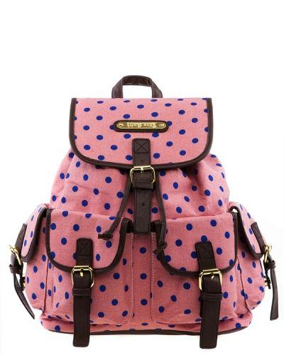 Have2have Ryggsäck med prickar. Väskorna håller hög kvalitet.