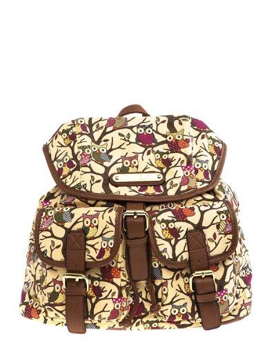 Have2have Ryggsäck med ugglor. Väskorna håller hög kvalitet.