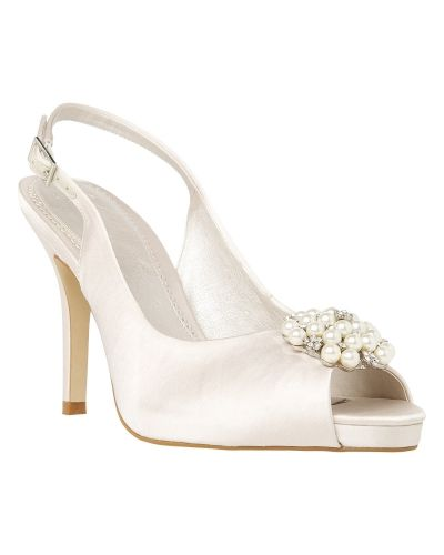 Phase Eight Alice Slingback Platform Shoes