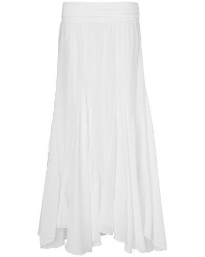 Phase Eight Anastasia Cotton Silk Maxi Skirt