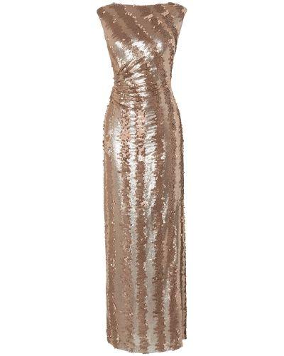 Guld klänning från Phase Eight till dam.