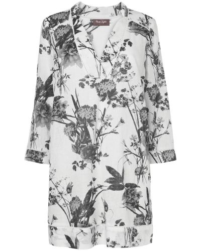 Phase Eight Blanche Floral Linen Tunic