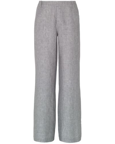 Phase Eight Christiana Cross Dye Linen Trousers