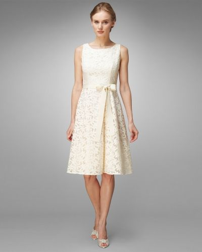 Phase Eight Daisy Embroidered Prom Dress