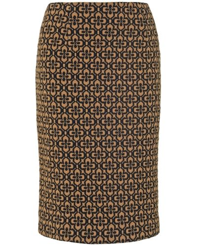 Phase Eight Dee Flower Jacquard Skirt