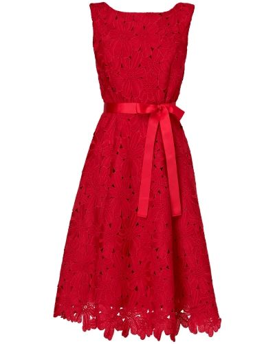 Phase Eight Fabia Embroidered Fit and Flare Dress