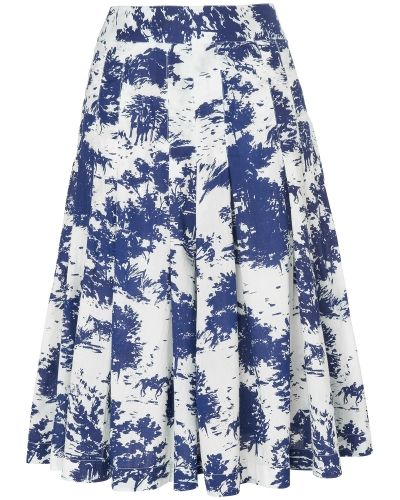 Phase Eight Fantine Cotton Print Skirt