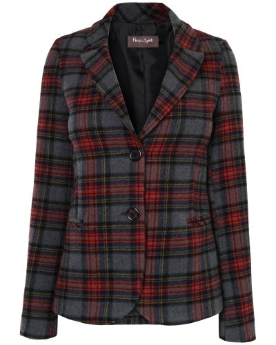 Phase Eight Fife Tartan Jacket