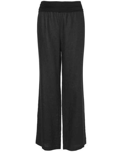 Phase Eight June Jersey Waist Linen Trouser